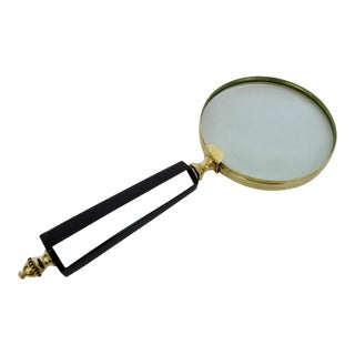 Vintage Art Deco Magnifying Glass