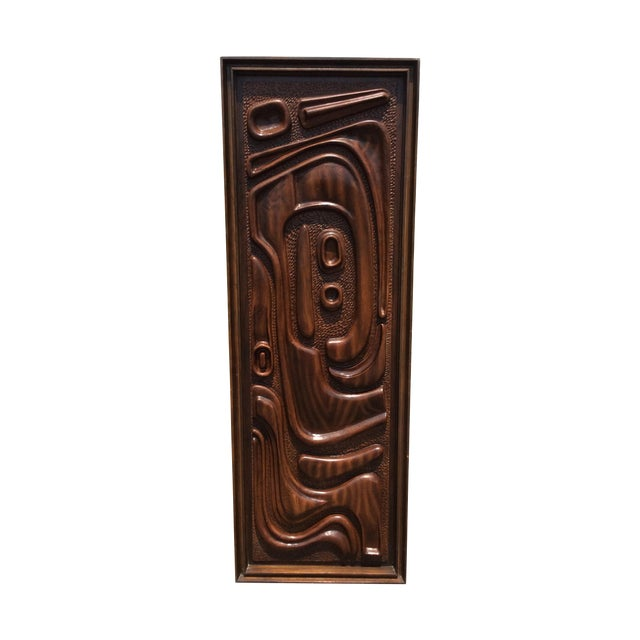 Witco Oceanic Style Bar Cabinet Tiki - Image 1 of 11