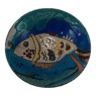 Art Pottery Fish Bowl