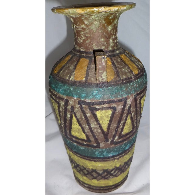 Mid Century Gambone Style Italian Vase - Image 5 of 9