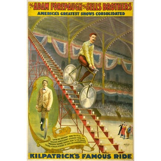 Kilpatrick's Famous Ride Print of Circus Poster
