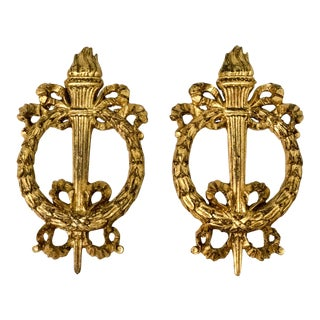 Italian Giltwood Fragments - A Pair