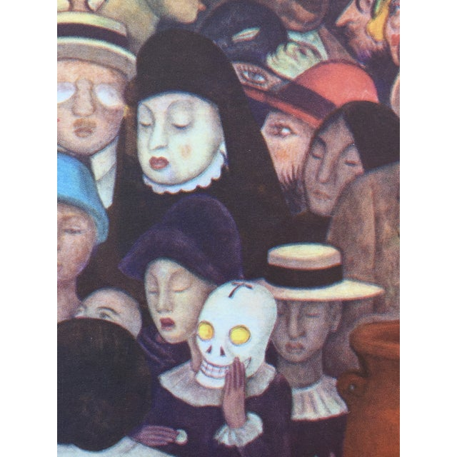 Rare 1946 Diego Rivera Lithograph - Image 3 of 7