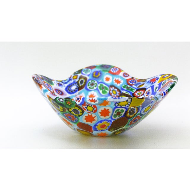 Fratelli Toso Millefiore Mosaic Murano Glass Bowl - Image 3 of 10