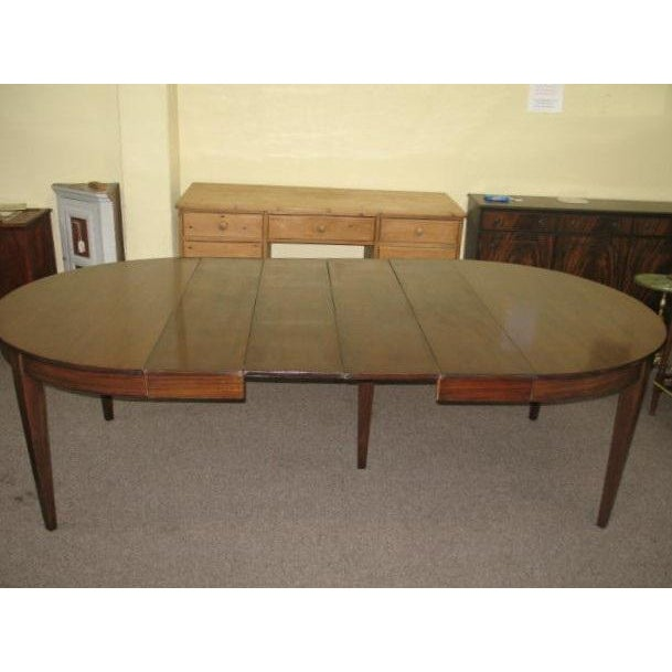 Antique Extending Mahogany Dining Table - Image 11 of 11