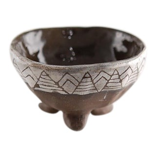 Natural American Clay Bowl