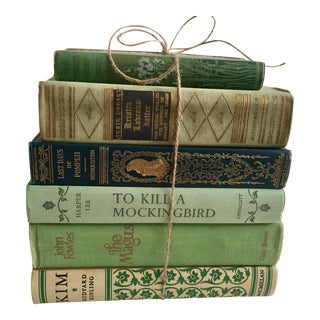 Green Classic Novels - Set of 6