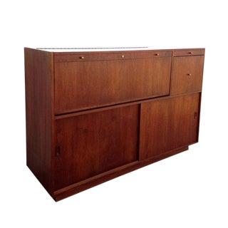 Mid -Century Modern Bar Cabinet
