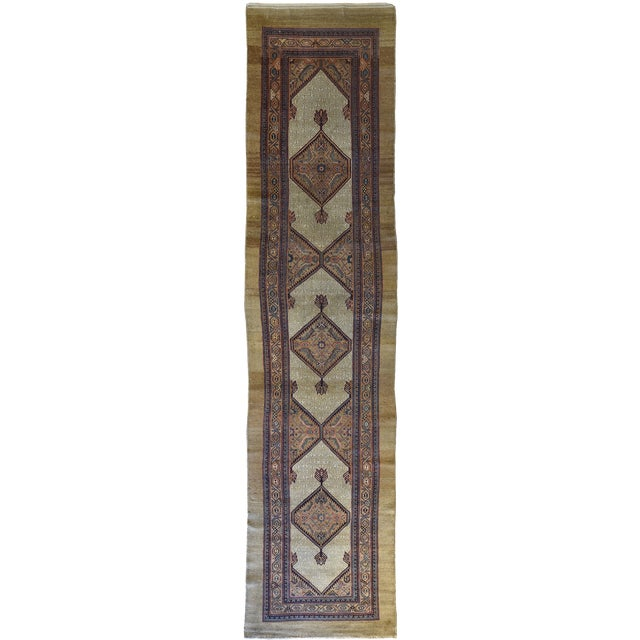Antique North West Persian Hall Runner - Image 5 of 5