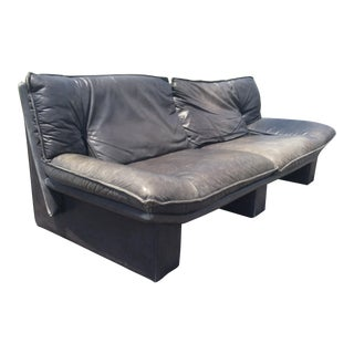 Nicoletti Salotti De Sede Italian Leather Sofa