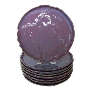 Vintage Mikasa Stoneware Plates - Set of 8