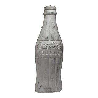 1930s Metal Coca Cola Bottle Sign