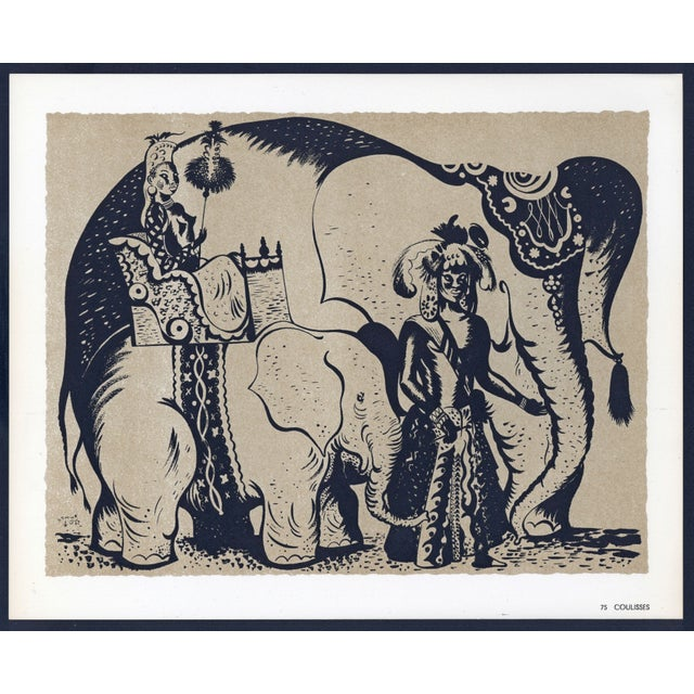 Image of 1944 Lithographs - Circus: # 52 & 75 - A Pair
