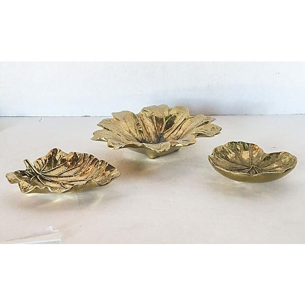 Virginia Metalcrafters Leaf Trays - Set of 3 - Image 3 of 7
