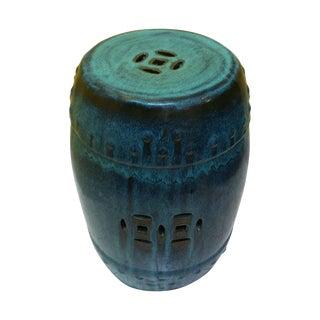 Glazed Ceramic Garden Stool