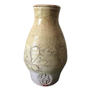 Hand Thrown Earthenware Vase