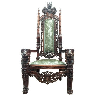Monumental Throne Chair