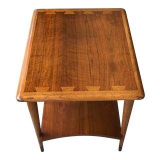 Vintage Lane Acclaim End Table, Mid Century Danish Modern