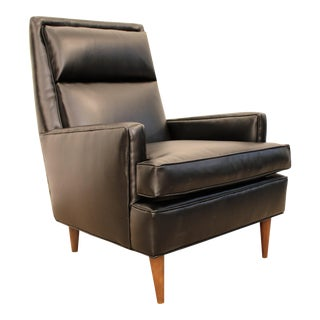 Selig Leather Pencil-Leg Lounger