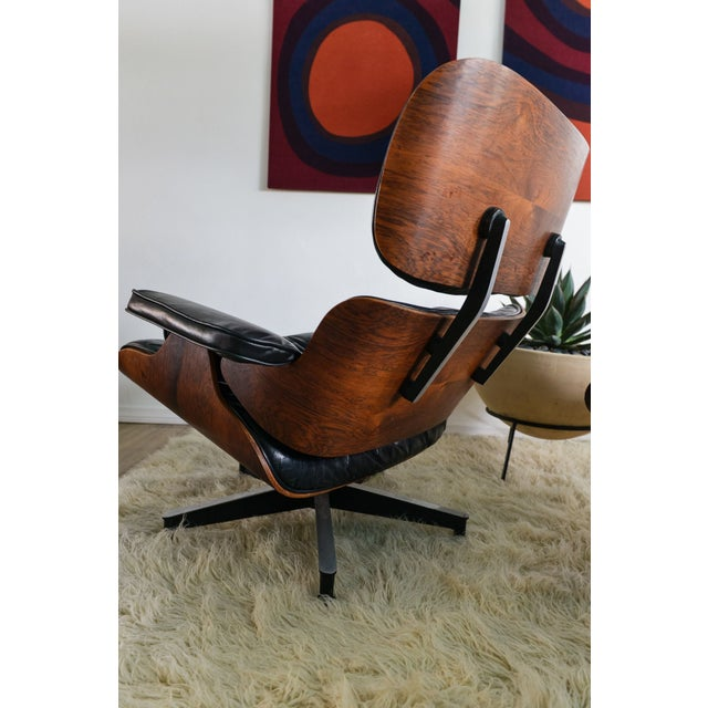 original herman miller eames 670 lounge chair chairish. Black Bedroom Furniture Sets. Home Design Ideas