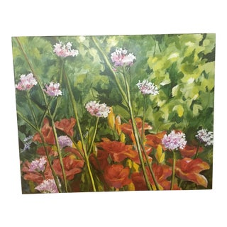 Asheville Blooms Painting