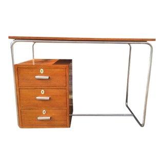 Walnut desk from Austria