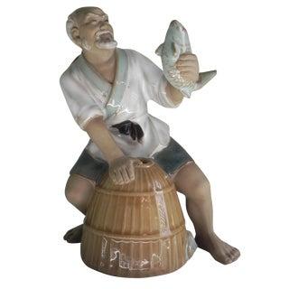 Chinese Fisherman Pottery