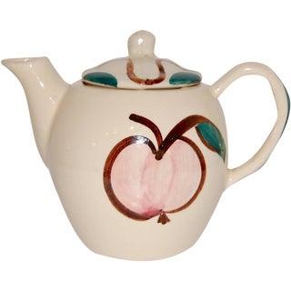 Vintage Pear & Apple Teapot