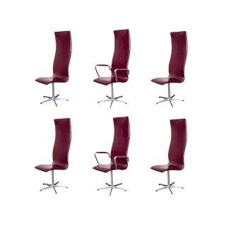 3272 Oxford Chairs by Arne Jacobsen for Fritz Hansen