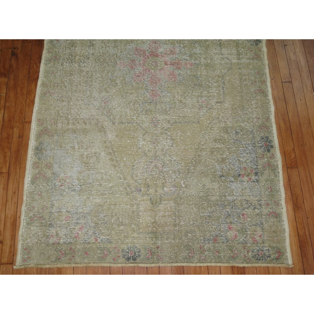 Shabby Chic Turkish Rug - 4'4'' X 7'1'' - Image 4 of 6