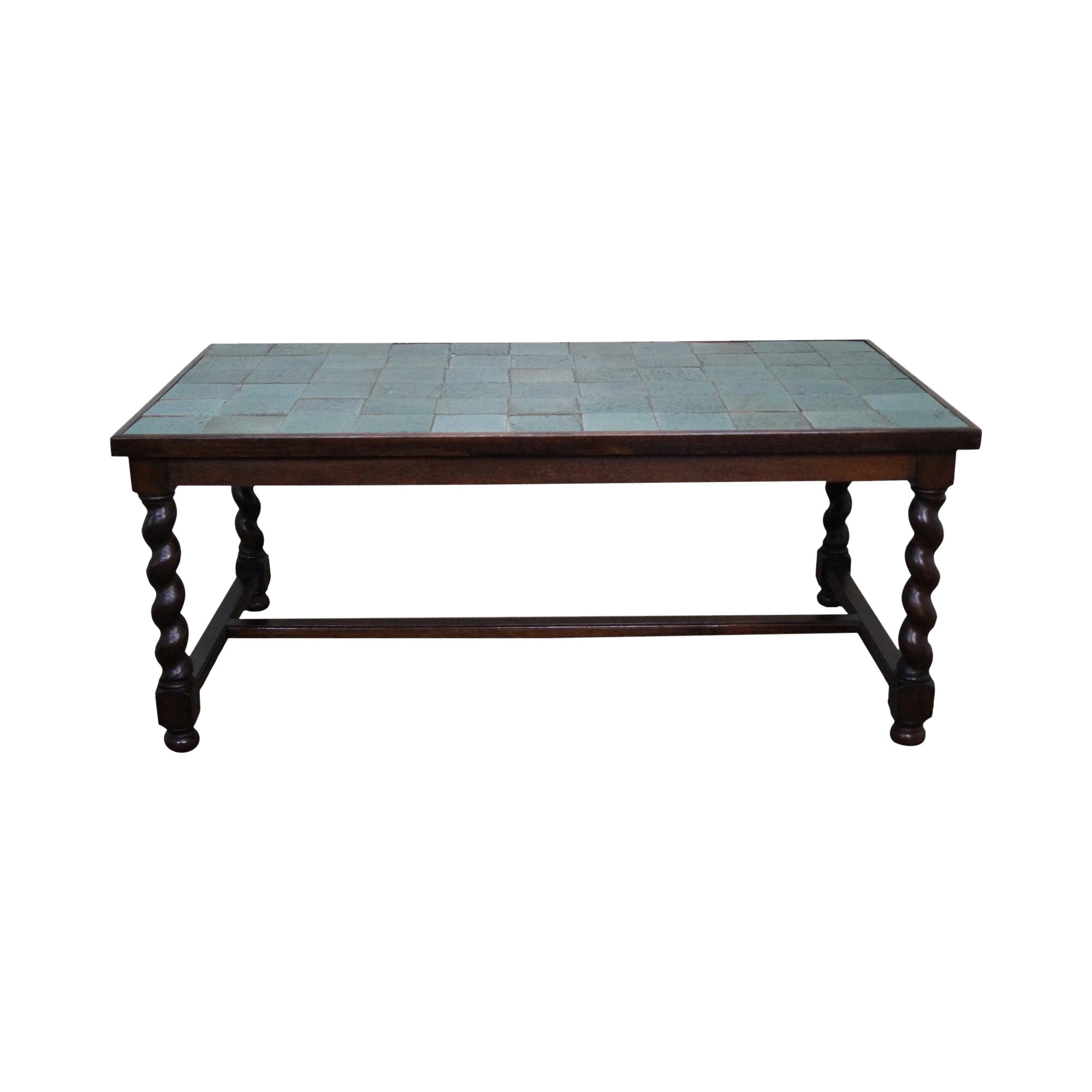 Antique Arts amp Crafts Oak Barley Twist Green Tile Top  : antique arts and crafts oak barley twist green tile top dining table 8759aspectfitampwidth640ampheight640 from www.chairish.com size 640 x 640 jpeg 22kB