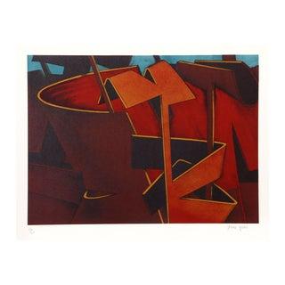 "Jasha Green ""Untitled 31"" Lithograph"