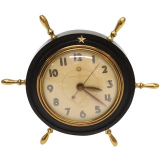 Vintage General Electric Nautical Clock
