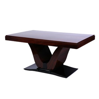 French Art Deco Rosewood Dining Table
