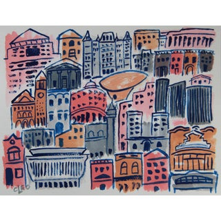 Cityscape Albany New York by Cleo