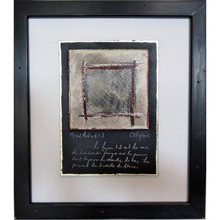 V.I.2 Framed Modernist Painting