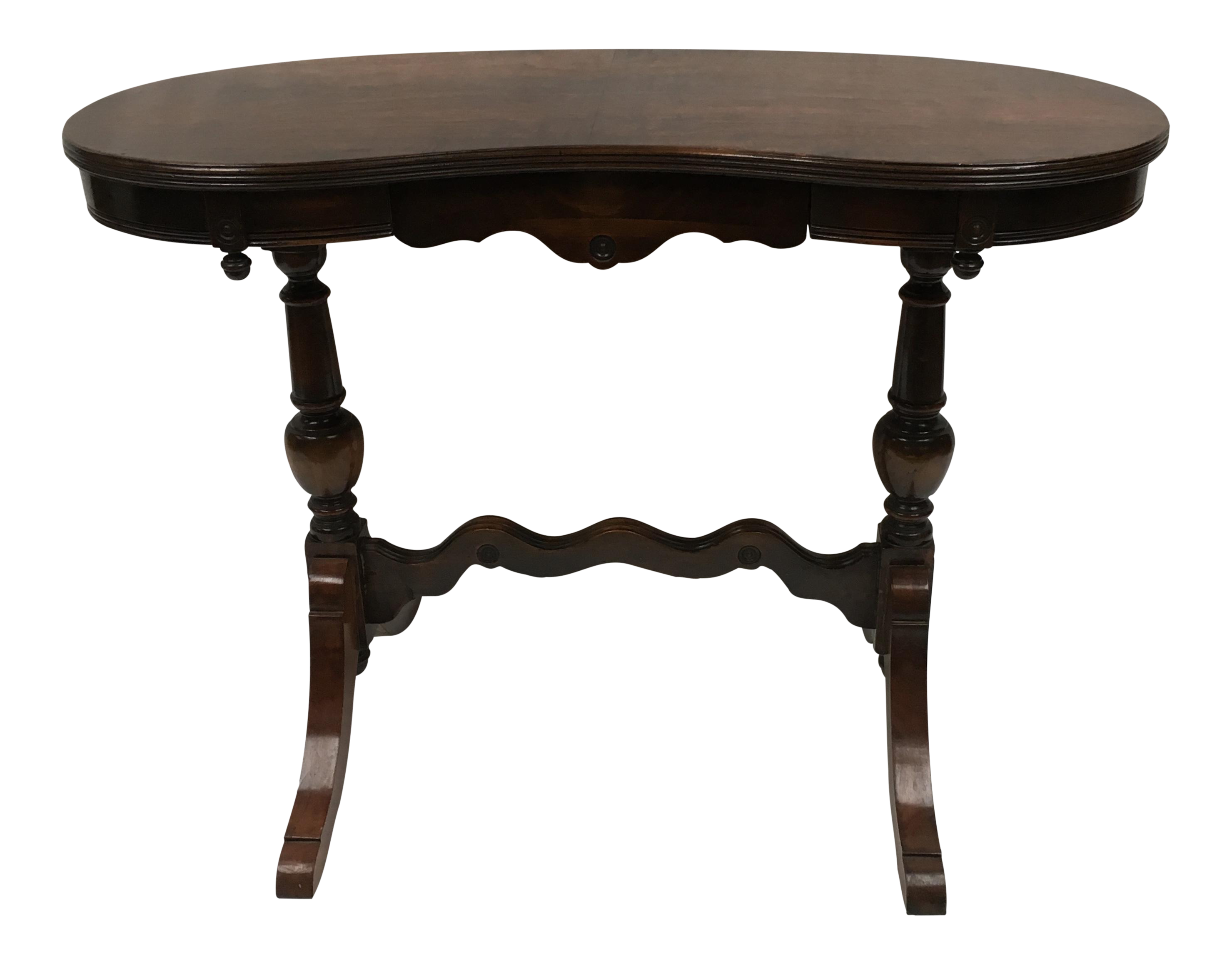 custom standing desk kidney shaped mid. 1920s Mahogany Kidney Shaped Writing Desk Custom Standing Mid