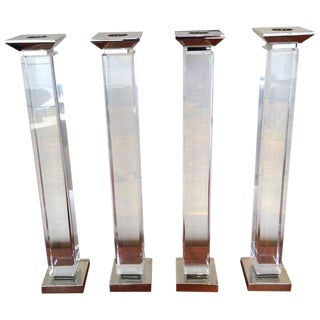 Charles Hollis Jones Candlesticks - Set of 4