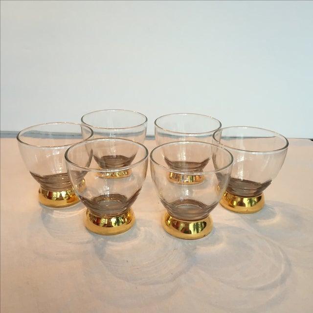 Image of Golden Rocks Glasses - Set of 6