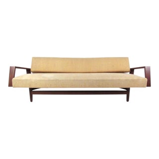 Mid-Century Extending Day Bed Sofa in the Style of Arne Wahl