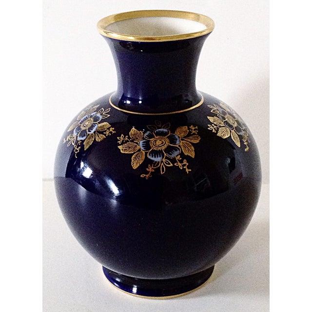 Image of Bavarian Cobalt Vase