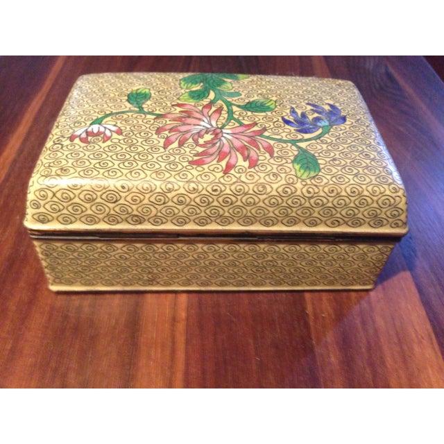 Vintage Cloisonne Box - Image 5 of 5