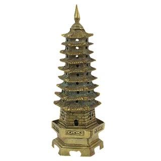 Large Brass Pagoda