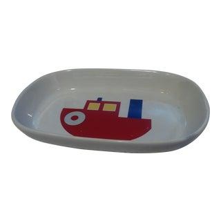 1980s Vintage New Marimekko Boat Tray