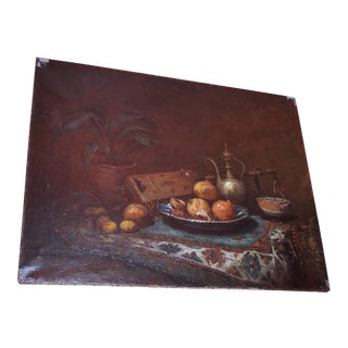 "French 19th Century ""Nature Morte"" Painting"