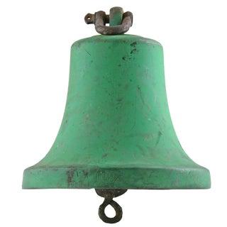 XL Antique Bronze Nautical Ship Bell
