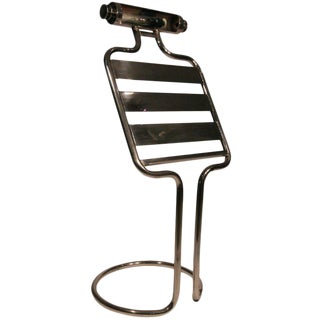 Mid-Century Chrome Sheet Music Stand