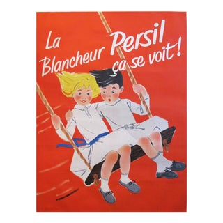 1957 French Soap Ad, Blancheur Persil