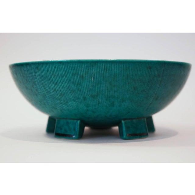 Image of Gustavsberg Argenta Footed Bowl