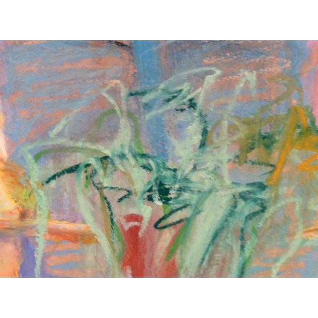 Barbara Borck-Hart Oil Pastel - Untitled #1 - Image 2 of 4